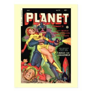 Planet Comics No 70 Postcards