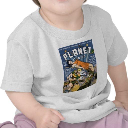 Planet Comics T-shirt