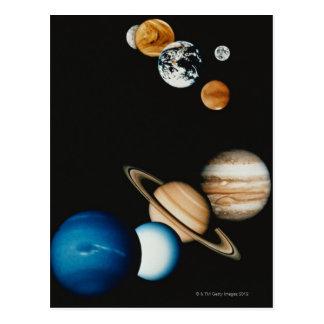 Planet Composition Postcard