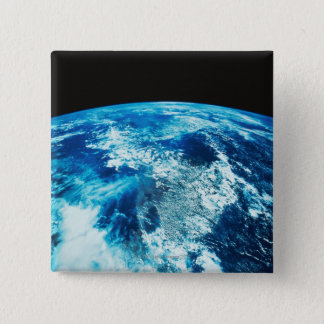 Planet Earth 15 Cm Square Badge