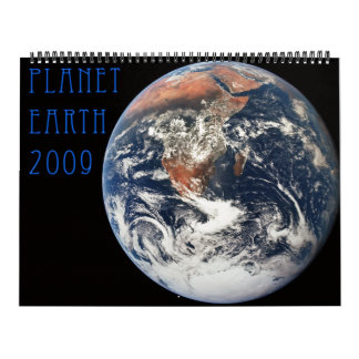 Planet Earth 2009 Calendar