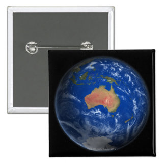Planet Earth 2 15 Cm Square Badge