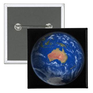 Planet Earth 2 15 Cm Square Badge