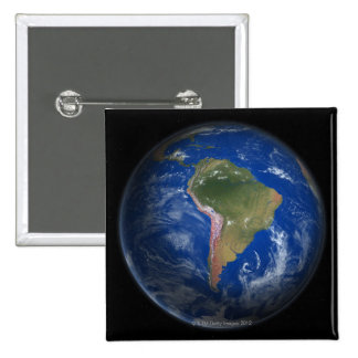 Planet Earth 5 15 Cm Square Badge