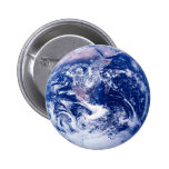 Planet Earth 6 Cm Round Badge