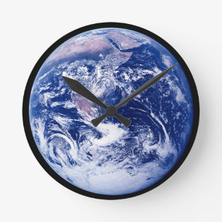 Planet Earth Amazing Space Picture Wallclocks