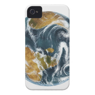 Planet Earth and clouds seen from space Case-Mate iPhone 4 Case