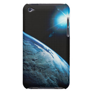 Planet Earth and Star from Space Case-Mate iPod Touch Case