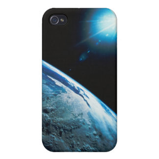 Planet Earth and Star from Space iPhone 4 Cases