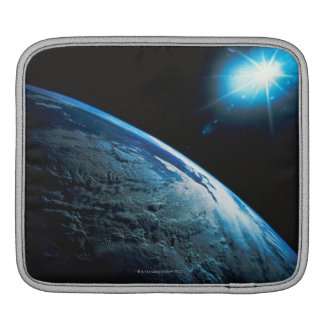 Planet Earth and Star from Space Sleeves For iPads
