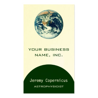 Planet Earth Business Cards