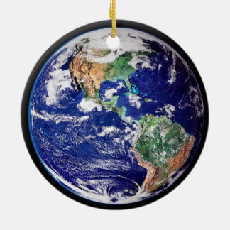 Planet Earth Christmas Ornament