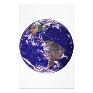 Planet Earth Custom Stationery