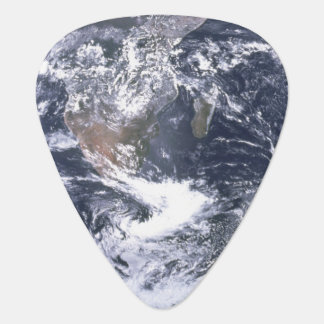 Planet Earth From Space Background Guitar Pick