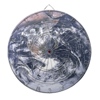 Planet Earth From Space Earth Day Dartboard