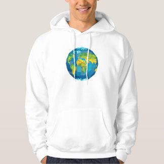 Planet Earth Hooded Pullovers