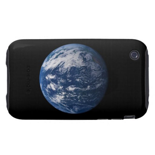 Planet Earth Looking At The Pacific Ocean iPhone 3 Tough Cases