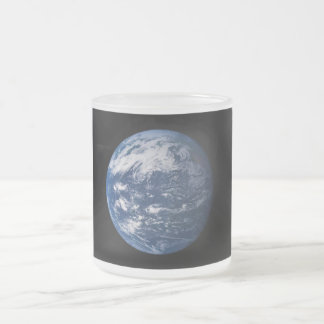 Planet Earth Looking At The Pacific Ocean Mug