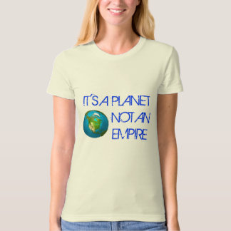 Planet Earth - Organic Women's T-Shirt