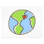 Planet Earth Picture! Custom Invites