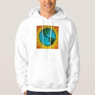 Planet Earth Pop Art Sweatshirt