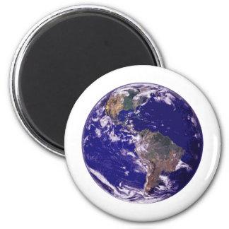 Planet Earth Refrigerator Magnet