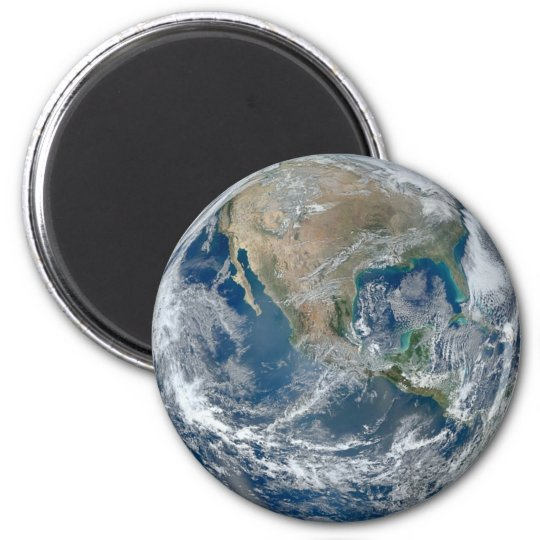 Planet Earth Refrigerator or Locker Magnet