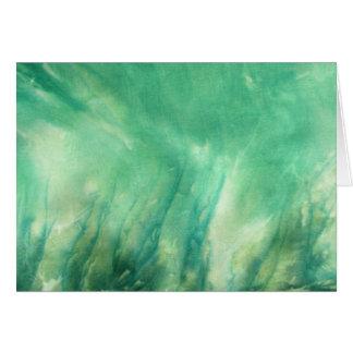 planet earth  savage seas greeting card