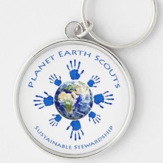 Planet Earth Scouts Facilitator Key Chain