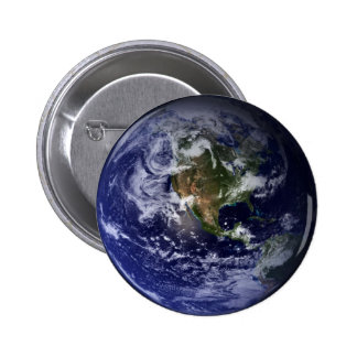 Planet Earth Space Photo 6 Cm Round Badge