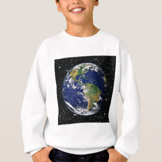 PLANET EARTH star background (solar system) ~ Sweatshirt