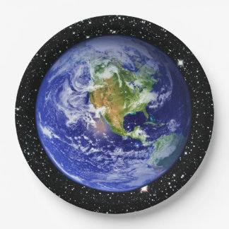 PLANET EARTH v3 star background (solar system) ~ Paper Plate