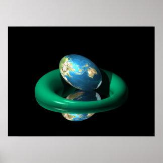 Planet Egg Poster