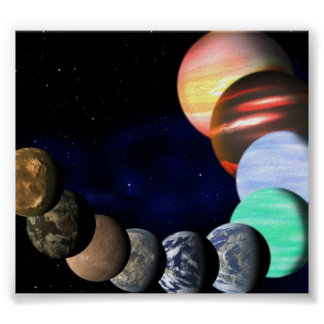 PLANET GALAXY POSTER