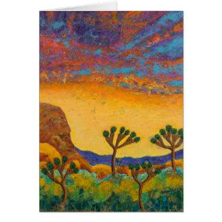 Planet Joshua Tree Card
