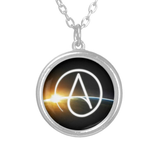 Planet.jpg Silver Plated Necklace