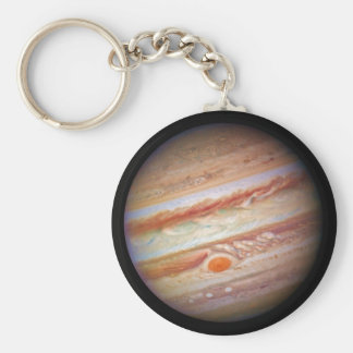 PLANET JUPITER ` red spot head on (solar system) ~ Key Ring