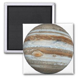 PLANET JUPITER star background (solar system) ~ Square Magnet