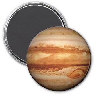 PLANET JUPITER v.3 (solar system) ~ 7.5 Cm Round Magnet