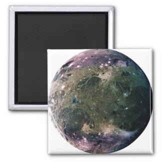 PLANET JUPITER'S MOON GANYMEDE (solar system) ~ Square Magnet