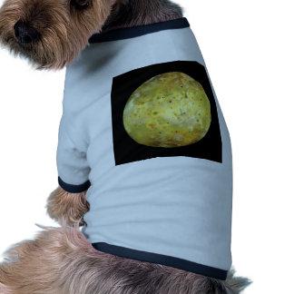 PLANET JUPITER'S MOON IO true color (solar system) Ringer Dog Shirt