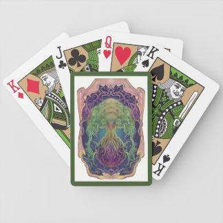 Planet Lunara Bicycle Playing Cards