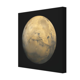 Planet Mars in the solar system Stretched Canvas Prints