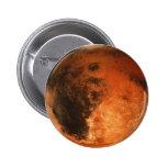 PLANET MARS (solar system) ~ 6 Cm Round Badge