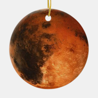 PLANET MARS (solar system) ~ Round Ceramic Decoration