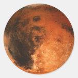 PLANET MARS (solar system) ~ Round Sticker