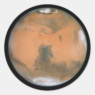 Planet Mars Stickers