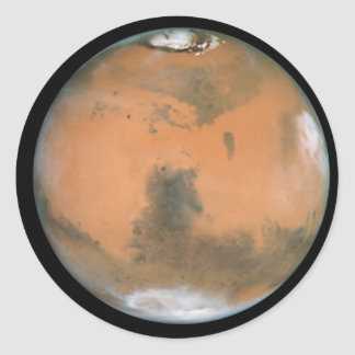 Planet Mars Sticker