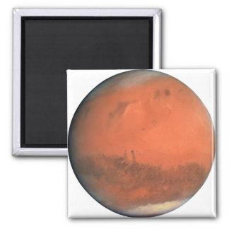 PLANET MARS true color natural (solar system) ~ Square Magnet