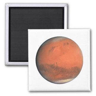 PLANET MARS true color natural (solar system) ~~ Square Magnet